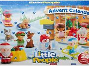 Fisher Price Little People Advent Calendar Christmas Toddler Countdown Toys New