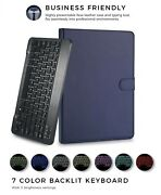 Bluetooth Uk Layout Keyboard With Case For Alcatel One Touch Pixi 3 10-inch Tab