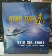 Star Trek Tos 50th Anniversary Boardered Mini-master With Binder +more