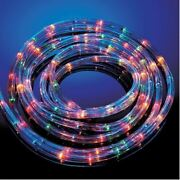 6/10/20/25 /30m Multi Coloured Rope Lights 8 Mood Xmas Party Lights In/outdoor