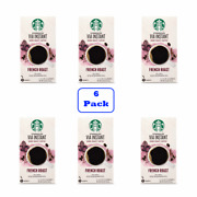 Starbucks Via Instant French Roast Dark Roast Coffee 6 Boxes Of 8 Packets