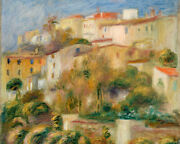 Pierre Auguste Renoir - Houses On A Hill