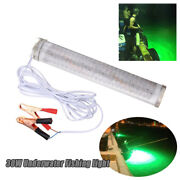 30w Led Green Underwater Submersible Fishing Light 2400lm Squid Dock Lamp Pretty