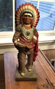 Vintage Native American Chief Universal Statuary Corp. 1976 Chicago