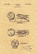 Patent Print - Strato Moon And Spaceship Coin Bank - Ready To Be Framed