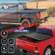 Soft Vinyl Lock Roll-up Tonneau Cover For 05-21 Nissan Frontier 5and039 Truck Bed