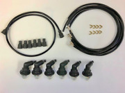 1934-1955 Dodge Car And Truck 6 Cylinder Spark Plug Wires And Everdry Boots Set