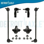 6pc Ball Joints Outer Tierods Sway Bar Links 2006 2007 2008 A3 Quattro Rabbit