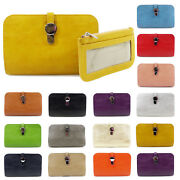 Ladies Wallet Long Purse Womens Phone Card Holder Clutch Large Capacity Pocket