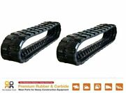 2pc Rubber Track 16 Wide 400x86x49 Cat 239d 249d Skid Steer
