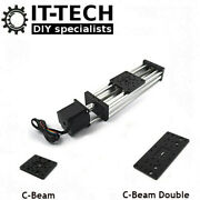 C-beam X Y Z Axis Linear Movement Actuator + Stepper Motor For Cnc 3d Printer