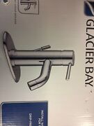 Glacier Bay Modern 4 Inch Bathroom Faucet With Pop-up Assembly Drain Chrome