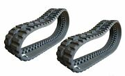 2 Pc Rio Rubber Track - 320x86x49 Mustang 1650rt Skid Steer