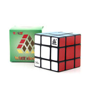 Black Type C 2nd 3x3x3 3x3 Mixup Plus Magic Cube Twist Puzzle By Witeden And Oskar