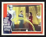 The Day The Earth Stood Still ✯ Cinemasterpieces 1951 Lobby Card 5 Movie Poster