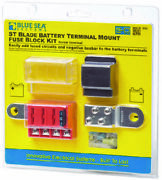 Blue Sea Systems 5024 4-gang Battery Terminal Fuse Block St Ato/atc And Cover
