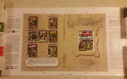 Marvel Masterworks - 11 Production Cover Stat Proof X-men 1989 Used By Editor