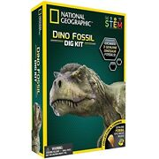 National Geographic Dinosaur Fossil Dig Up Kit Kids Stem Excavation Toy New Gift