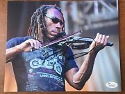 Boyd Tinsley From Dave Matthews Band Dmb Signed Autograph Jsa 8x10 Photo