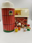 Vintage Fisher Price People - 1967 Toy Barn - 1968 Silo