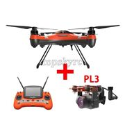 Swellpro Uav Fpv Drone 3 + Pl3 Payload Release W/ Stablization Gimbal 4k Camera