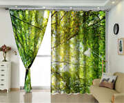 Slender Branch Mixed 3d Curtains Blockout Photo Printing Curtains Drape Fabric