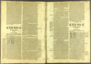 1551 Tavernerand039s Bible Leaf - 2nd Ed - Tyndaleand039s Prolog With Whole Book Of Jonas
