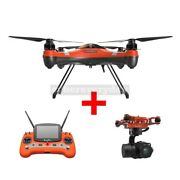 Swellpro Splash Drone 3 Waterproof Uav With 3axis Brushless Gimbal And 4k Camera