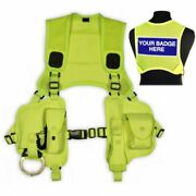 Protec Hvdu2t High Visability Overt Police And Security Equipment Harness