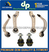 Bentley Continental Gt Gtc Front Control Arms Arms Ball Joints Suspension Kit 6