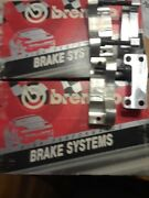 New In Box Pair Of Brembo Calipers And Brake Pads
