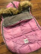 7 Am Enfant Le Sac Igloo 500 Stoller Cover. Pink Size Small 0 - 6 Months