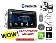 05-07 Dodge Magnum Charger Bluetooth Touchscreen Dvd Cd Usb Car Radio Stereo