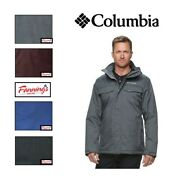 New Menand039s Columbia Eagleand039s Call Thermal Coil Insulated Jacket Variety Sz/clr I53