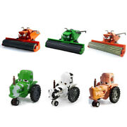 Cars Toys Harvester Frank And Tractor Diecast Toy Car 155 Loose Kids Vehicle