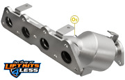 Magnaflow 51429 2.375 Inlet/2 Outlet Df Catalytic Converter For 2012-2016 Kia