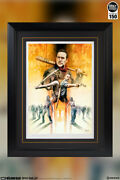 Sideshow The Walking Dead My Brotherandrsquos Keeper Fine Art Framed Print Signed New