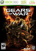 Gears Of War Microsoft Xbox 360 Video Game With Manual Tested With Warranty