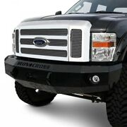 Iron Cross Hd Base Front Winch Bumper For 2008-2010 Ford 6.4l F250 F350 F450