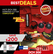 Hilti Dch 300 Electric Diamond Cutters, Preowned, Free Thermal Bottle, Fast Ship