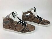 Rare Gourmet Footwear Shoes Womens Uno Sp Leather Snake Skin High Top - Fstshp