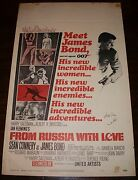 From Russia With Love - Window Card - Autographed - Spectre