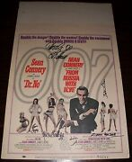 Dr. No And From Russia With Love Window Card Autographed