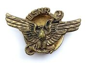 Usnr Collar Button Hole Stud Wwii United States Navy Reserve Vintage Military
