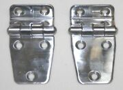Marine Offset Shortside Hinge Pair 2and039and039 X 1-1/2 Offset 3/8and039and039 71005