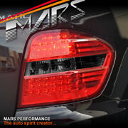 Smoked Red Led Tail Lights For Mercedes-benz W164 Ml500 Ml350 Ml320 Ml300 Ml280