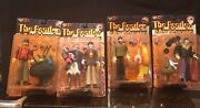 Vintage Beatles By Mcfarlane Yellow Submarine All 4 Figures,nos Unopened Set