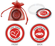 Love Token For Husband Boyfriend Wife Girlfriend. Gag Gift Car Wash