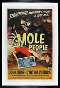 The Mole People ✯ Cinemasterpieces Monster Signed Autographed Movie Poster 1956