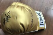 """Michael """"jinx"""" Spinks And Gerry Cooney Signed Everlast Boxing Glove With Proof"""